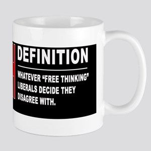 "Hate Speech: Whatever ""Free Thiknking""  Mug"