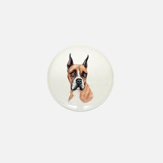 Flashy Boxer Mini Button