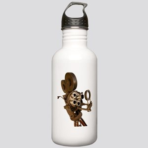 Vintage Camera Stainless Water Bottle 1.0L