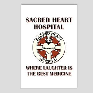 SACRED HEART HOSPITAL Postcards (Package of 8)