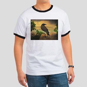 Retro Sky Crow T-Shirt