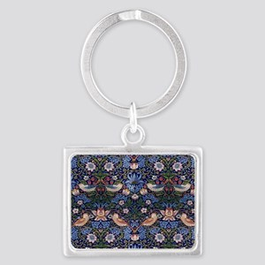 William Morris Strawberry Thief Landscape Keychain