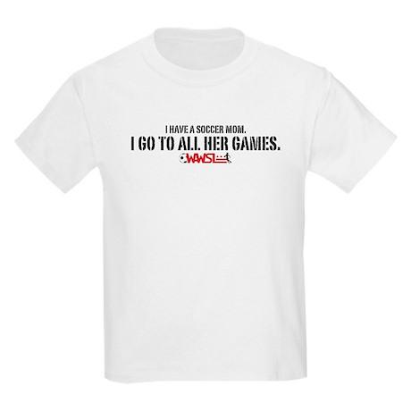 WAWSL Soccer Mom - Kids' Light T-Shirt