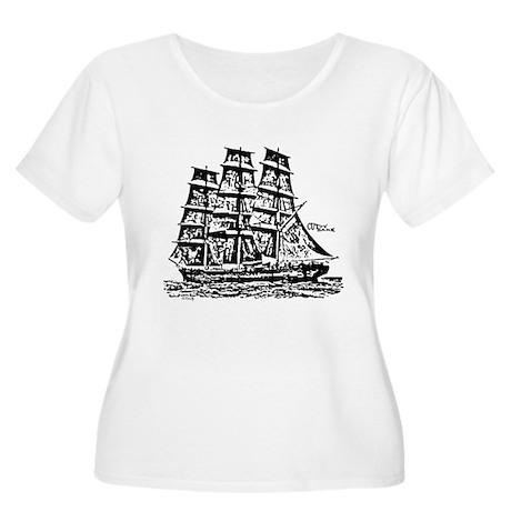 Cutty Sark Women's Plus Size Scoop Neck T-Shirt