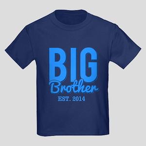 Big Brother Est 2014 Kids Dark T-Shirt