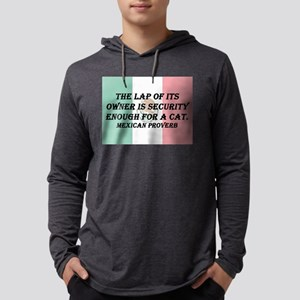 The Lap of Its Owner Mens Hooded Shirt