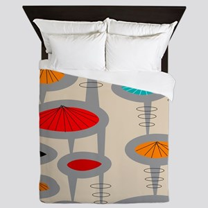 Atomic Era Inspired Queen Duvet