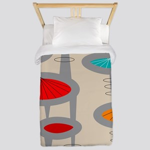 Atomic Era Inspired Twin Duvet