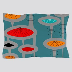 Atomic Era Inspired Pillow Case