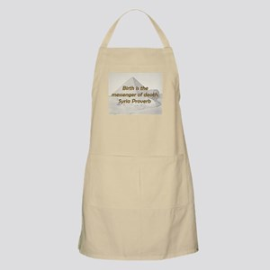 Birth Is the Messenger Light Apron