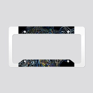 Sci-Fi Abstract License Plate Holder