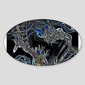 Sci-Fi Abstract Sticker