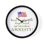Real Immigrants Wall Clock