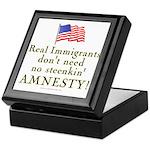 Real Immigrants Keepsake Box