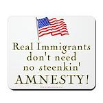Real Immigrants Mousepad