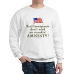 Real Immigrants Sweatshirt