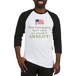 Real Immigrants Baseball Jersey