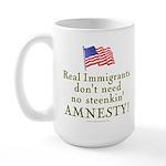 Real Immigrants Large Mug