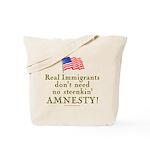 Real Immigrants Tote Bag