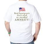 Real Immigrants Golf Shirt