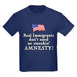 Real Immigrants Kids Dark T-Shirt