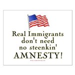 Real Immigrants Small Poster