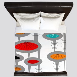 Atomic Era Inspired King Duvet