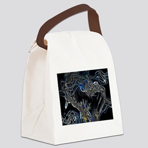 Sci-Fi Abstract Canvas Lunch Bag