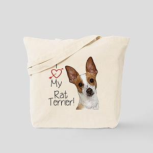 Rat Terrier Tote Bag