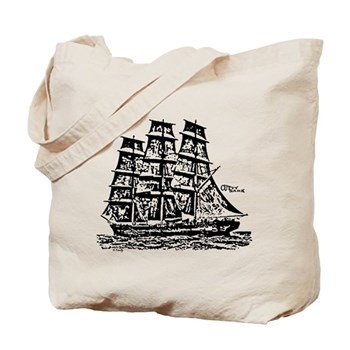 Cutty Sark Tote Bag