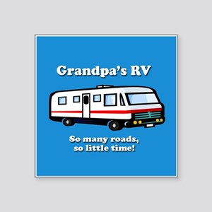 3-grandpasrv2orna Sticker