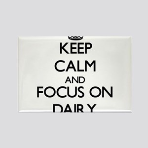 Keep Calm and focus on Dairy Magnets