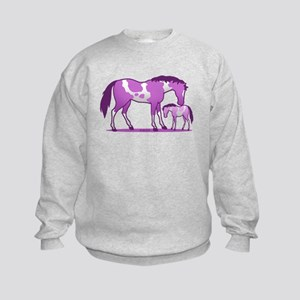 I Love Horse (Purple) Jumper Sweater