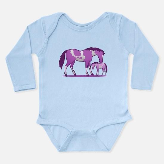 I Love Horse (Purple) Body Suit