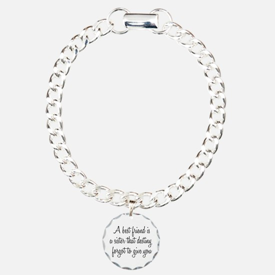 Cute Relationships Charm Bracelet, One Charm