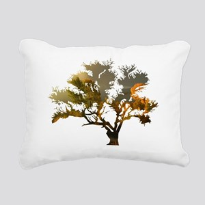 Autumn Tree Rectangular Canvas Pillow