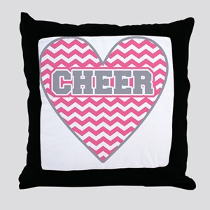 Cheer Heart Throw Pillow