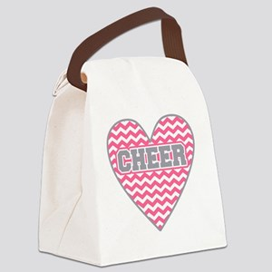 Cheer Heart Canvas Lunch Bag