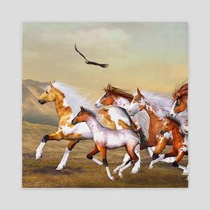 Wild Horses Herd Queen Duvet