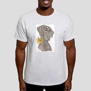 NBlu Flower pup Light T-Shirt