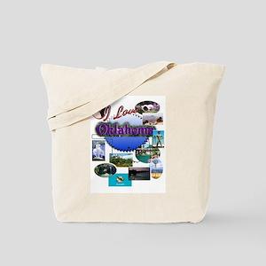 I Love Oklahoma! Tote Bag