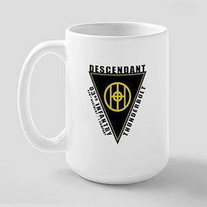 83rd Descendant Large Mug