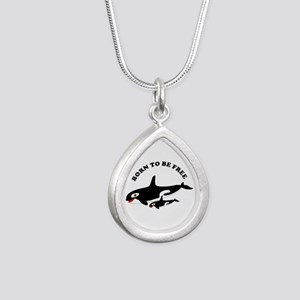 Free the whales Necklaces