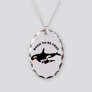 Free the whales Necklace