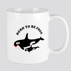 Free the whales Mugs