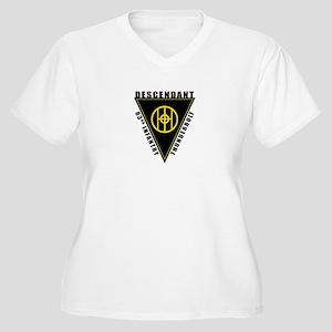83rd Descendant Women's Plus Size V-Neck T-Shirt