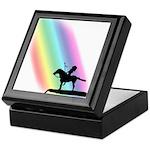 Native American Rainbow Warrior Keepsake Box