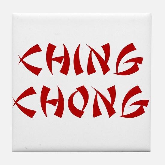 Ching Chong Tile Coaster