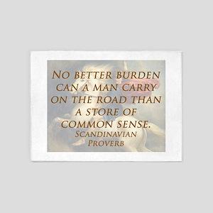 No Better Burden 5'x7'Area Rug