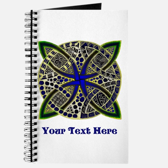 Customize this Symbolic Celtic Knot Doodle Journal